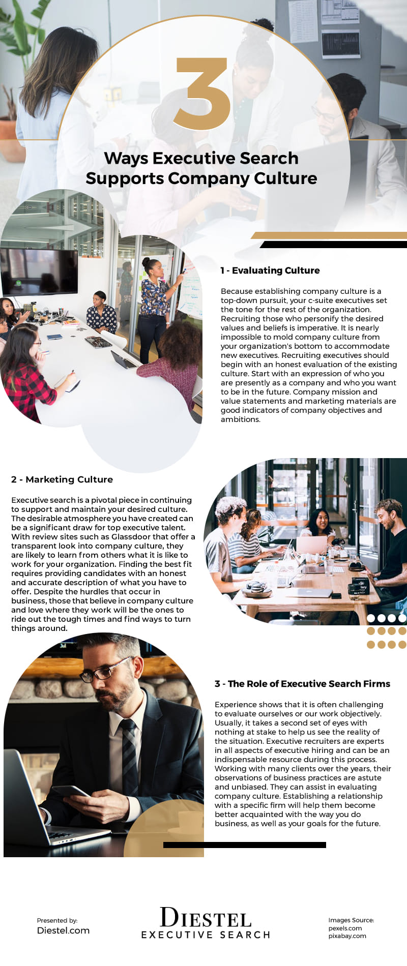3 Ways Executive Search Supports Company Culture